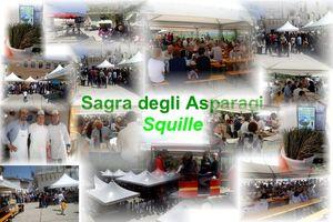 Squille (Castel Campagnano). Asparagi: non solo sagra, ma anche dissertazioni e promozione dei vini locali