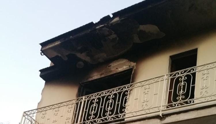 Marcianise, si incendia stabile. Extracomunitari all'interno