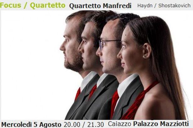 Caiazzo. 'Summer Concert': esordio provinciale mercoledì 5 agosto al palazzo Mazziotti